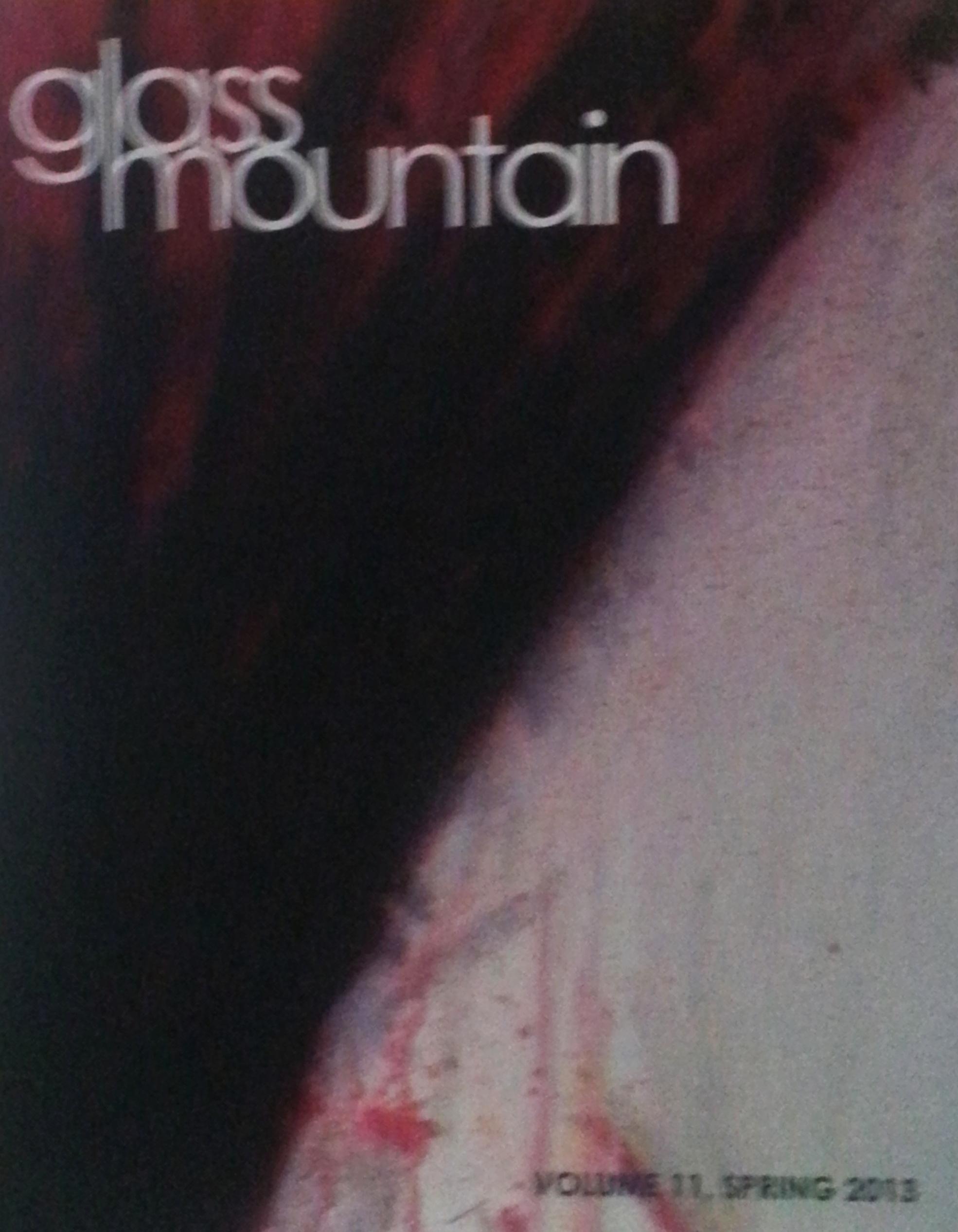 Glass Mountain Magzine | Volume 11, Spring 2013
